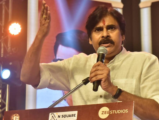 Pawan Kalyan attends Republic pre-release event, reveals Sai Dharam Tej is 'still in coma'.