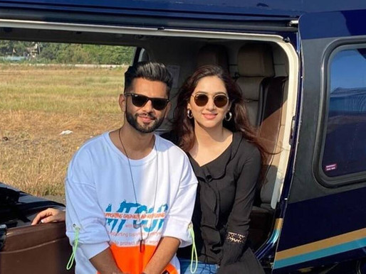Rahul Vaidya is on vacation with his 'cutie queen' Disha Parmar.