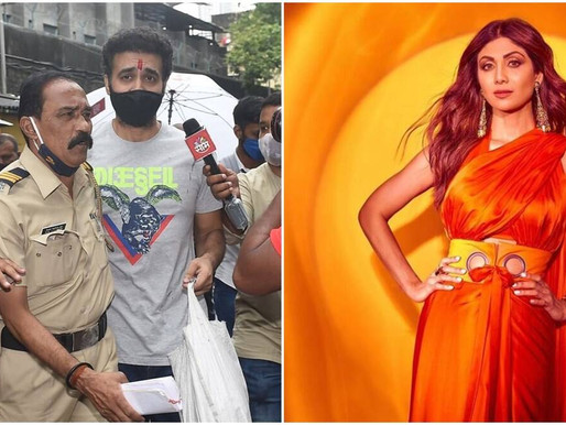 Shilpa Shetty talks about 'working through difficult times' as Raj Kundra returns home.