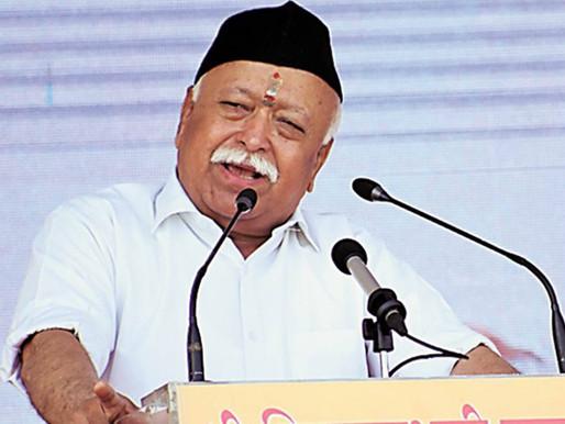 CAA, NRC not a Hindu-Muslim issue, says RSS chief Mohan Bhagwat.