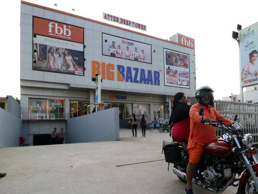 SC notice to Future Retail, others on Amazon's plea.