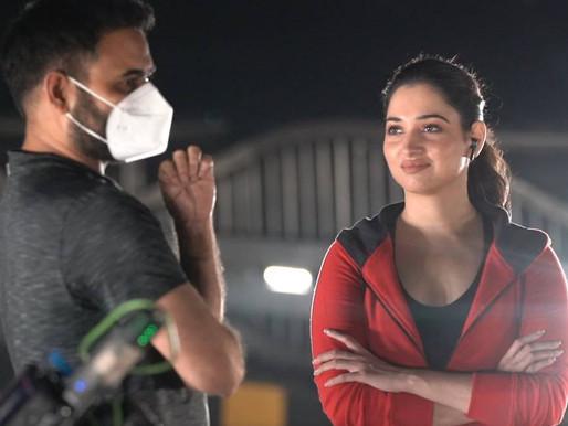 11th Hour director Praveen Sattaru on Tamannaah Bhatia: 'She has upped her game'.