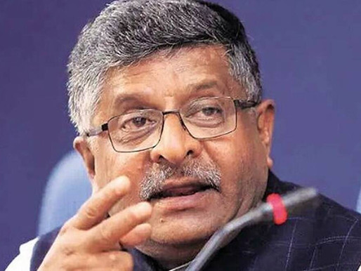 Internet imperialism by select few is unacceptable: Ravi Shankar Prasad.