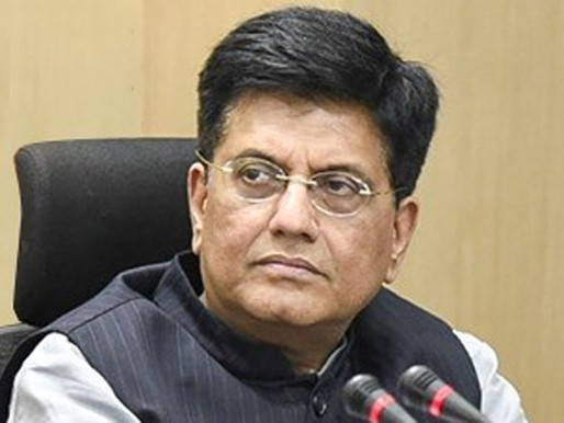 Exports on track for FY22, aim $450-500 bn next year: Piyush Goyal.