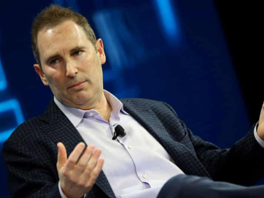 Amazon to grant new CEO Andy Jassy over $200 million in stock.