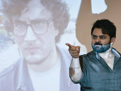Chiranjeevi unveils Sai Dharam Tej's firebrand Republic trailer weeks after his accident.