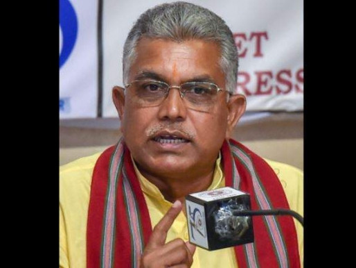 TMC MLAs have lost faith in Mamata govt: Dilip Ghosh