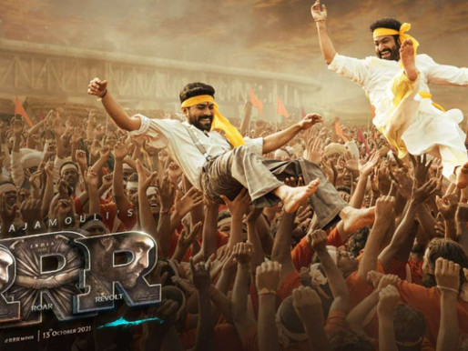 RRR new poster: Ram Charan and Jr NTR feature in new celebratory poster on Ugadi.