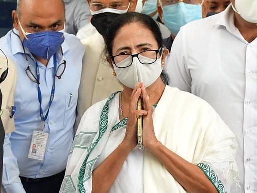 Mamata reaches Delhi, may meet PM today.