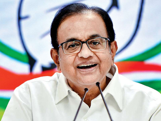 Chidambaram targets govt over vaccination plan.