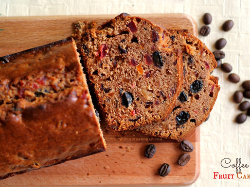 Coffee Fruit Cake Recipe
