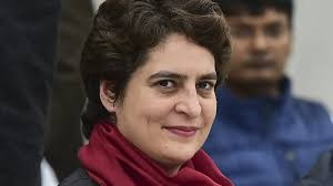 Priyanka Gandhi attacks BJP government over unpaid dues of UP sugarcane farmers.
