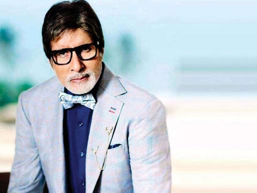 Amitabh Bachchan completes 52 years in Bollywood, says 'aaj hi ke din'.