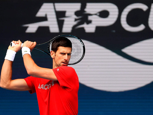 Novak Djokovic leads Serbia's title defence at reduced ATP Cup.