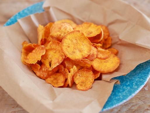 Microwave Potato Chips Recipe