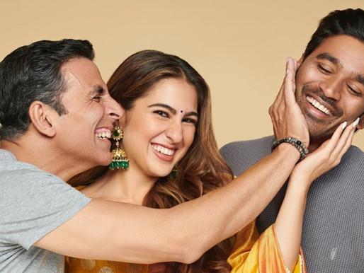Atrangi Re: Akshay Kumar joins Sara Ali Khan, shares first pic from sets.