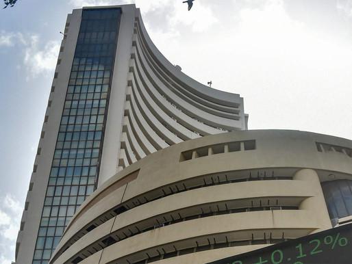 Sensex up 500 points, Nifty breaches 16,850-mark.