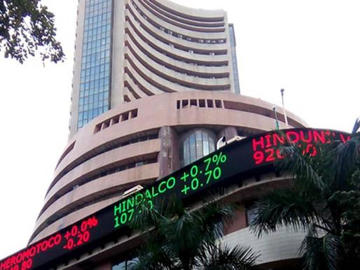 Sensex begins week by breaking another record.