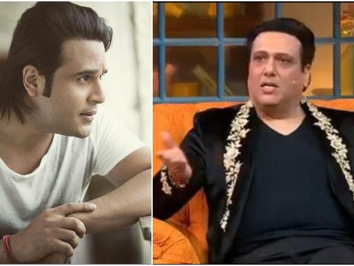 Krushna Abhishek on refusing to do Kapil Sharma's show with uncle Govinda