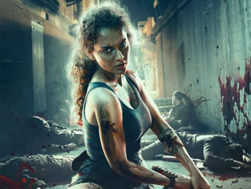 Dhaakad: Kangana Ranaut rehearses for action sequence, appreciates technicians for their hard work.