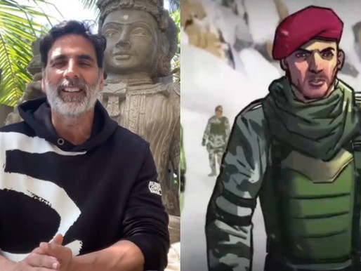 Akshay launches mobile action game FAU-G.