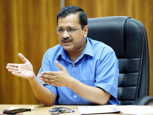 Kejriwal urges people to give AAP chance for 5 years, says 'will forget 25 years of BJP'.