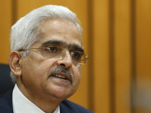 RBI Governor: Growth momentum needs to be strengthened.