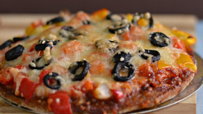 Ragi Pizza Recipe.