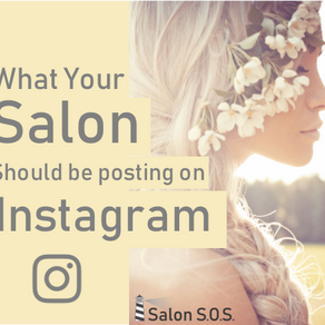 What Should Salons / Spas post on Instagram?
