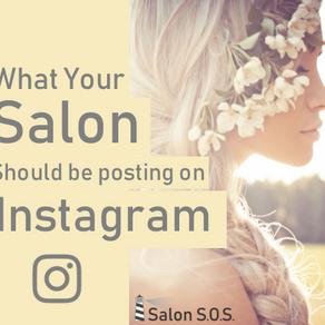 What Should Salons / Spas post on Instagram?