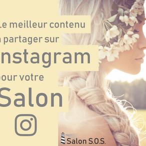 Le meilleur contenu à partager sur Instagram pour votre salon ou spa
