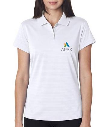 APEX Adidas Ladies' ClimaLite® Textured Polo