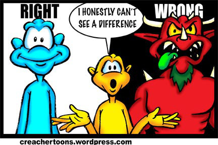 """What Happened to """"Right and Wrong""""?"""