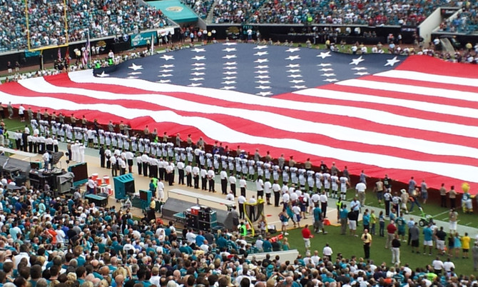 Why I Stand for The National Anthem