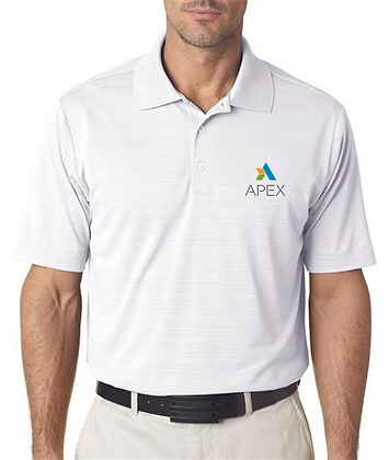 APEX Adidas Men's ClimaLite® Textured Polo