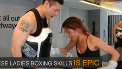 These Ladies Boxing Skills is Epic!