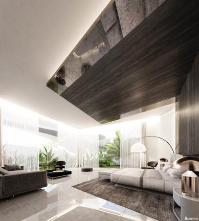 Main villa master bedroom
