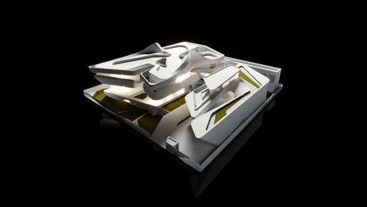 3D model / Aerial view
