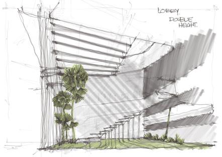 Lobby sketch