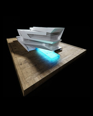 3D model aerial