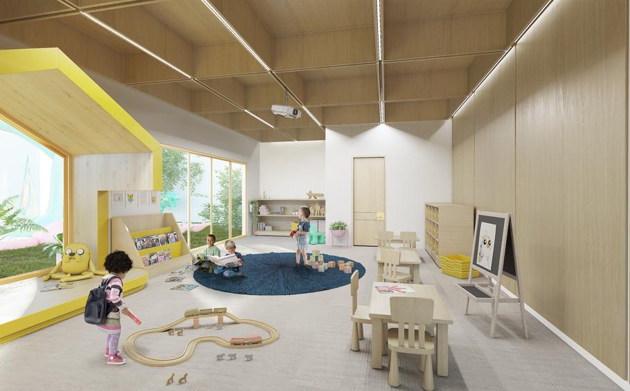 Kinder garden class room
