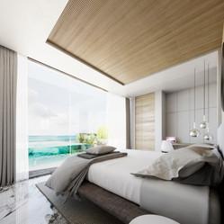 Chalet B, master bedroom