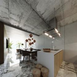 Chalet B, kitchen