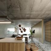 Chalet A, kitchen