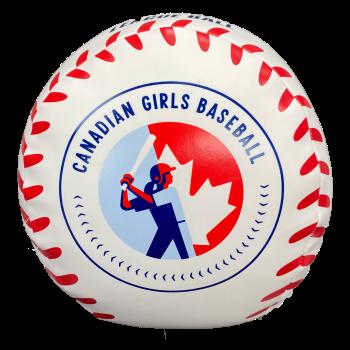 CGB Big Girl Plush Baseball
