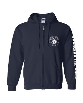 Navy CGB Zip Hoodie