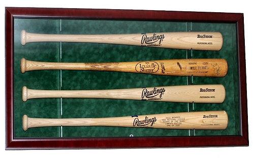 baseball bat display cases for autographed baseball bats
