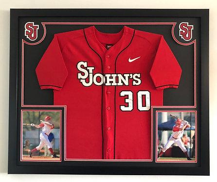 College & High School Senior Jersey Framing