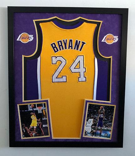 PREMIUM Basketball Jersey Framing