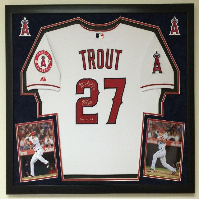 the best attitude bd9f3 13a73 PREMIUM Baseball Jersey Framing | Sports Framing